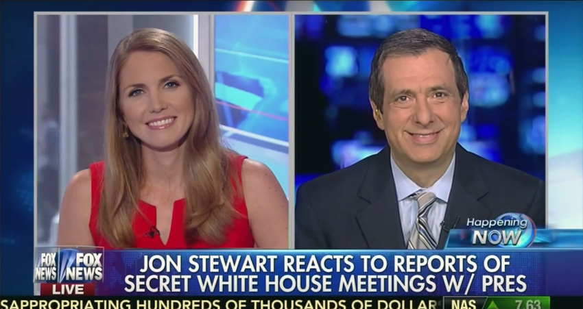 Jon Stewart Burns Fox News Hypocrisy On Supposed Secret Meetings With Pres. Obama!  – VIDEO