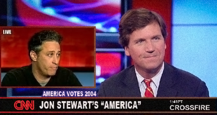 The Time Jon Stewart Appeared On CNN's Crossfire And Got The Show Canceled – VIDEO