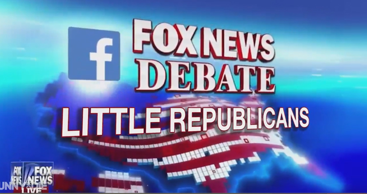 GOP Debate Acted Out By Children Is Hilariously True To Life – VIDEO