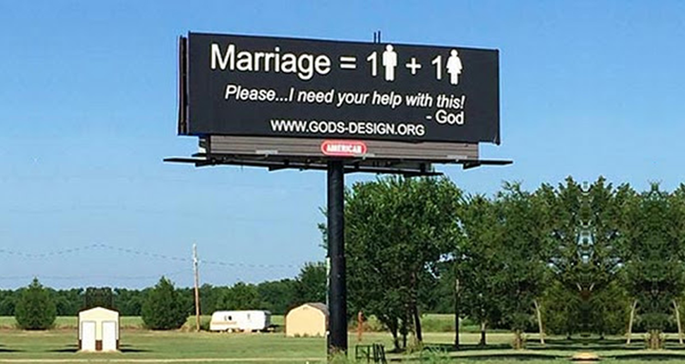 Christian Couple Plan 1,000 Anti-Gay Billboards