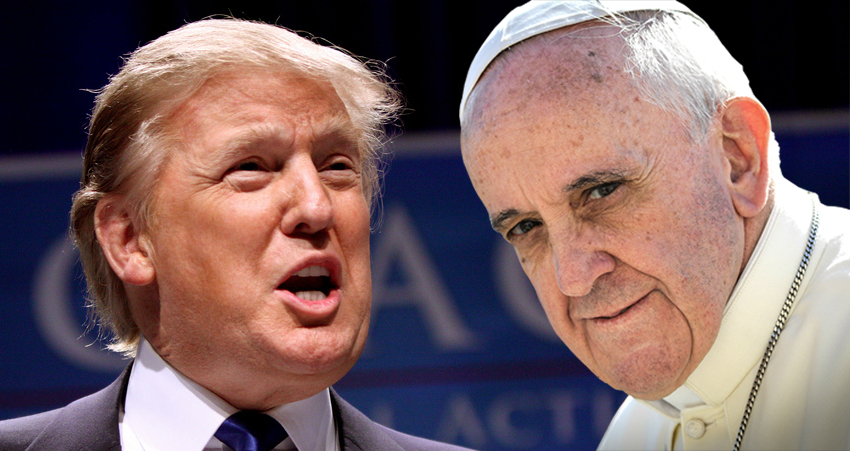Trump's Targets Pope Francis – VIDEO