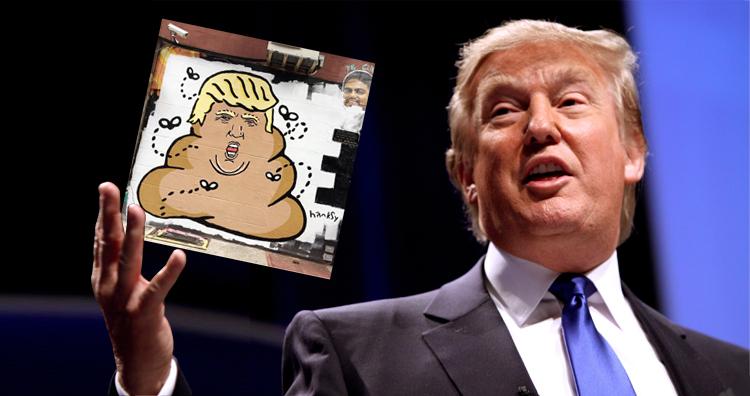 Donald Trump As Giant Pile Of Poop By Street Artist 'Hanksy' Appears In Manhattan