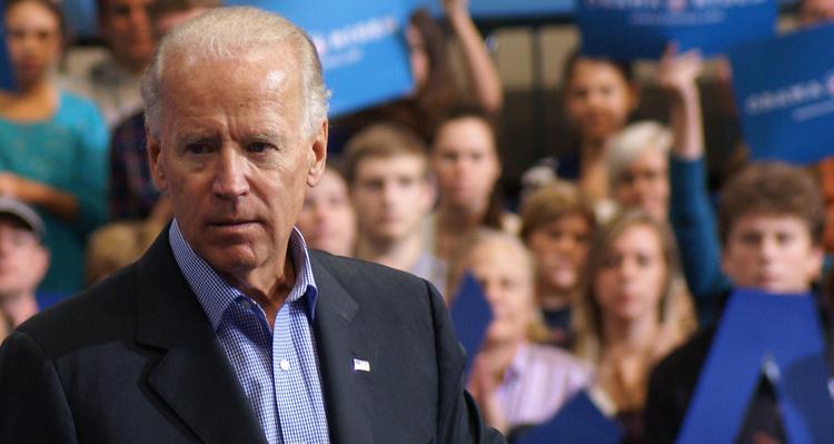 Biden Blasts Trump For His 'Sick Message.'