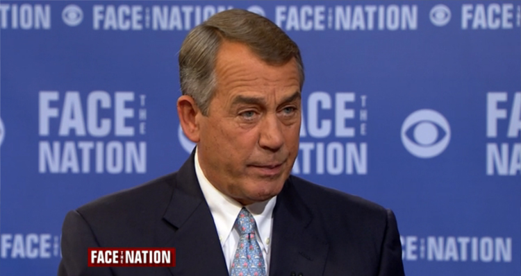 Boehner Warns Conservatives About The Tea Party: Reavows Calling Ted Cruz 'That Jack-Ass'  (Video)