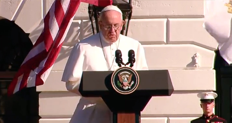 Pope Francis Pulls No Punches While Forcefully Addressing Climate-Change (Video)