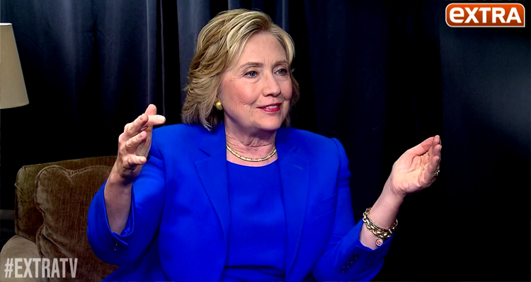 Clinton-Clinton 2016? – Hillary Tells EXTRA 'It Has Crossed My Mind' (VIDEO)