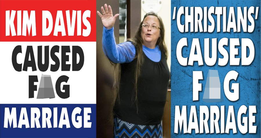 Westboro Baptist Church Lashes Out At Kim Davis