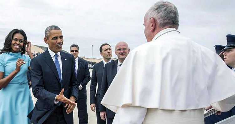 President Obama And Pope Francis – Advancing Shared Values For A Better World