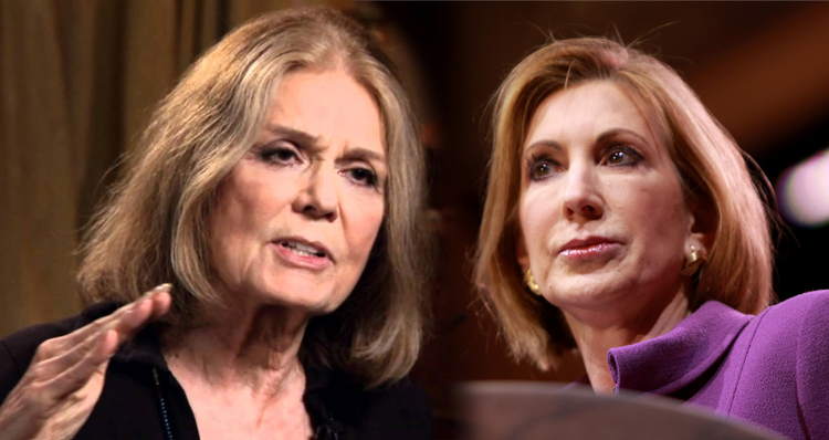 Gloria Steinem Blasts Carly Fiorina With Searing Facebook Post