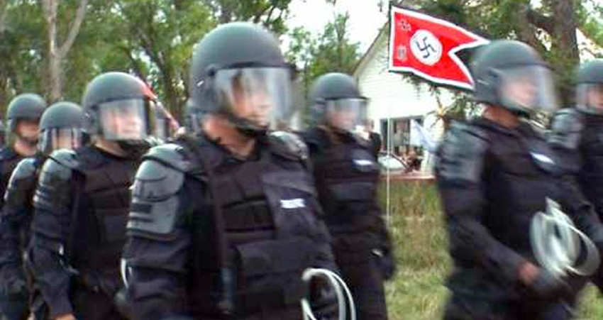 Neo-Nazi White Supremacists Terrorize & Takeover Small Town In America – Residents Fight Back