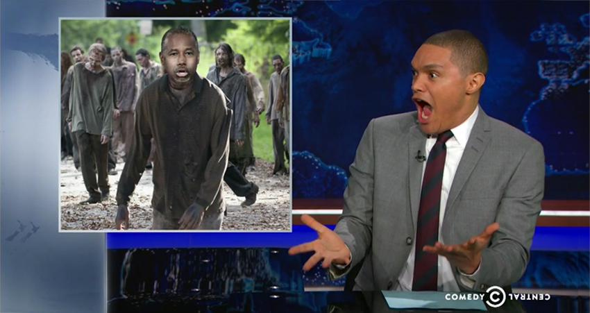Daily Show Blasts Ben Carson For Shooting Comments (Video)