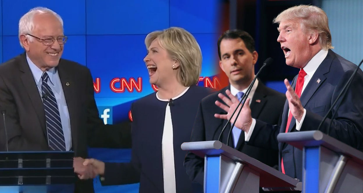 How The Democratic Debate Bested The Republican Ones