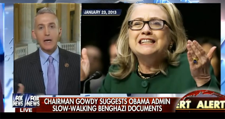 Democrats Release Devastating Video And Fact Sheet Slamming Benghazi Chair Trey Gowdy