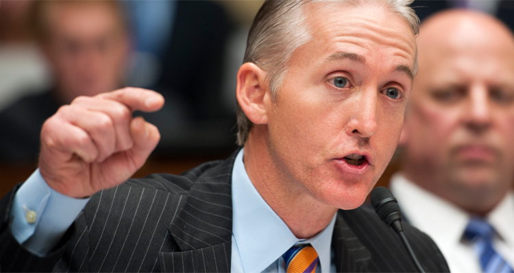 Explosive New Report On Benghazi Chairman Gowdy's Links To Stop Hillary PAC