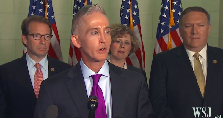 Trey Gowdy Makes Startling Admission To Reporters (Video)