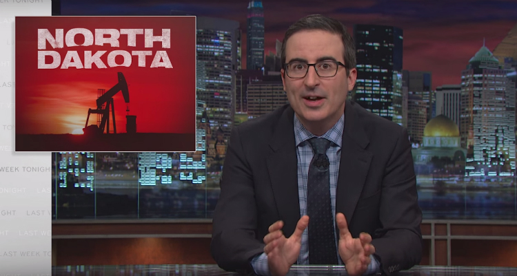 John Oliver Rips Into Big Oil And How It Is Destroying North Dakota (Video)