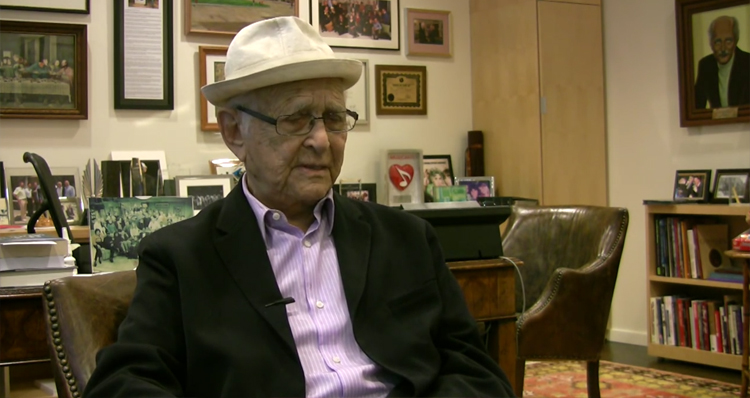 You Won't Believe What TV Legend Norman Lear Just Called Donald Trump (Video)