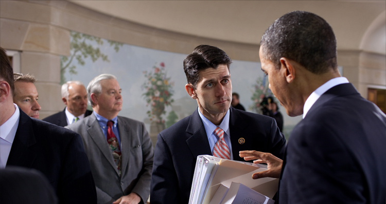 When President Obama Laid The Smackdown On Paul Ryan And Didn't Know It (Video)
