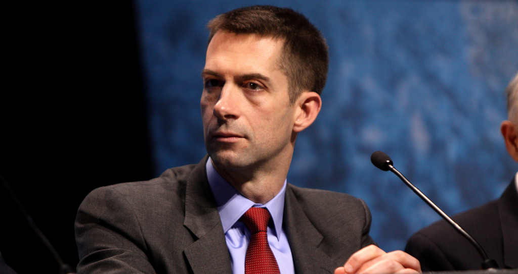 You Won't Believe Which War Monger Tom Cotton Wants For Speaker Of The House