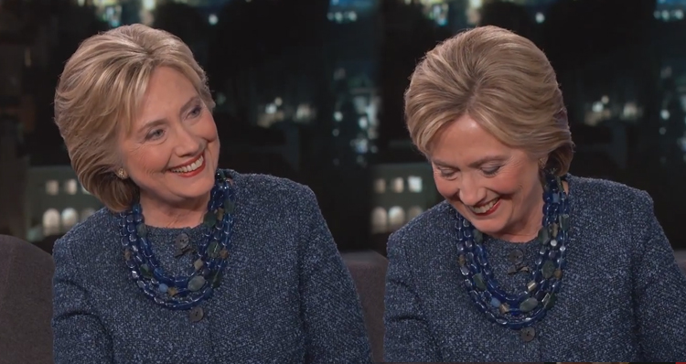 Hillary Clinton Cracks Up Over The Absurdity Of Ben Carson's Lies (Video)