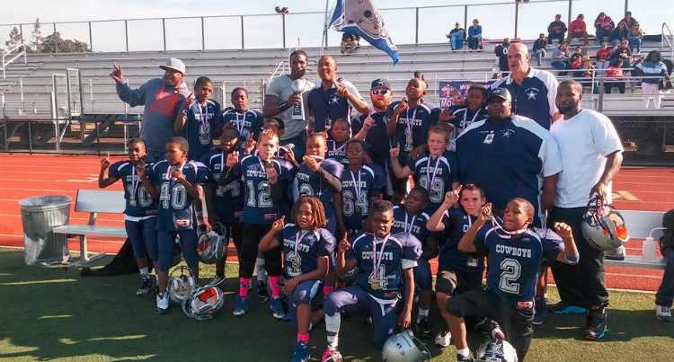 The Kids On The San Pablo Cowboys Youth Football Team Need YOU!
