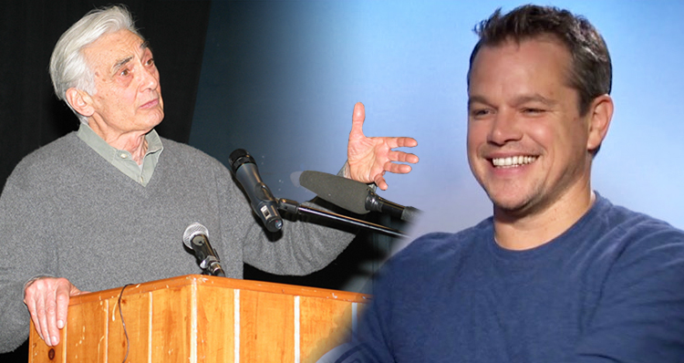 Matt Damon: Howard Zinn's Anti-War Speech – 'What We Need Is Civil Disobedience' (Video)