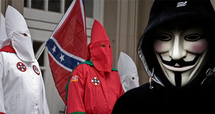 New Anonymous Video Confirms Threat To Reveal 1,000 Members Of KKK Is real & Invites Public To Join