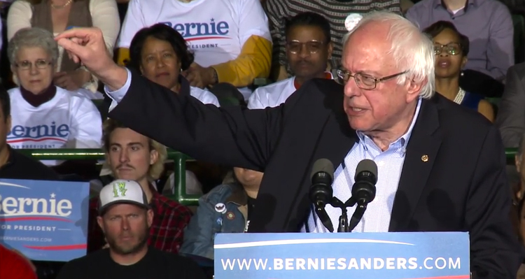 Bernie Sanders Blasts Dick Cheney, George W. Bush (Video)