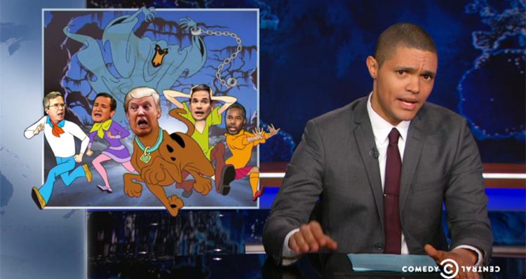 Trevor Noah Slams GOP Candidates' 'Ridiculous' Demand For Baby-Proof Debates (Video)