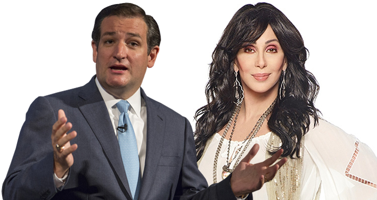 Cher's Epic Ted Cruz Smackdown!
