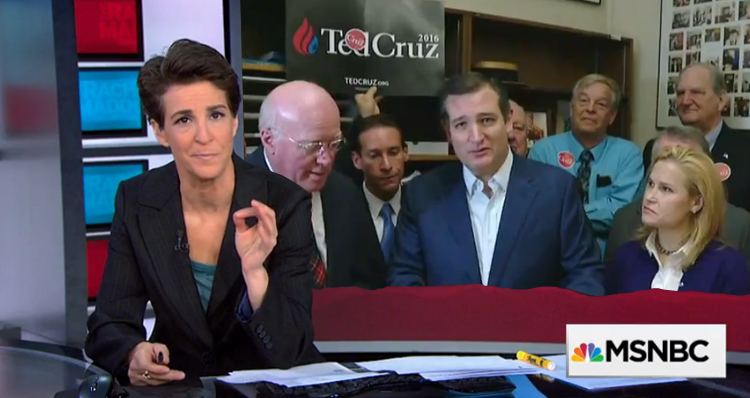 Rachel Maddow Blasts Ted Cruz (Video)