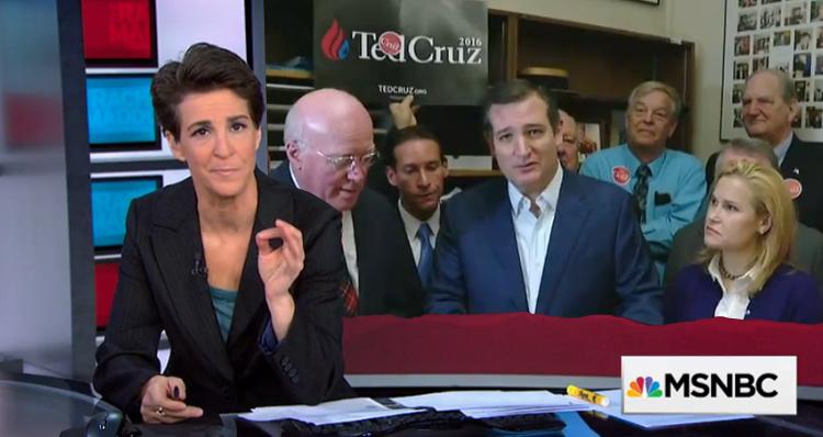 Rachel Maddow Blasts Ted Cruz (Video)