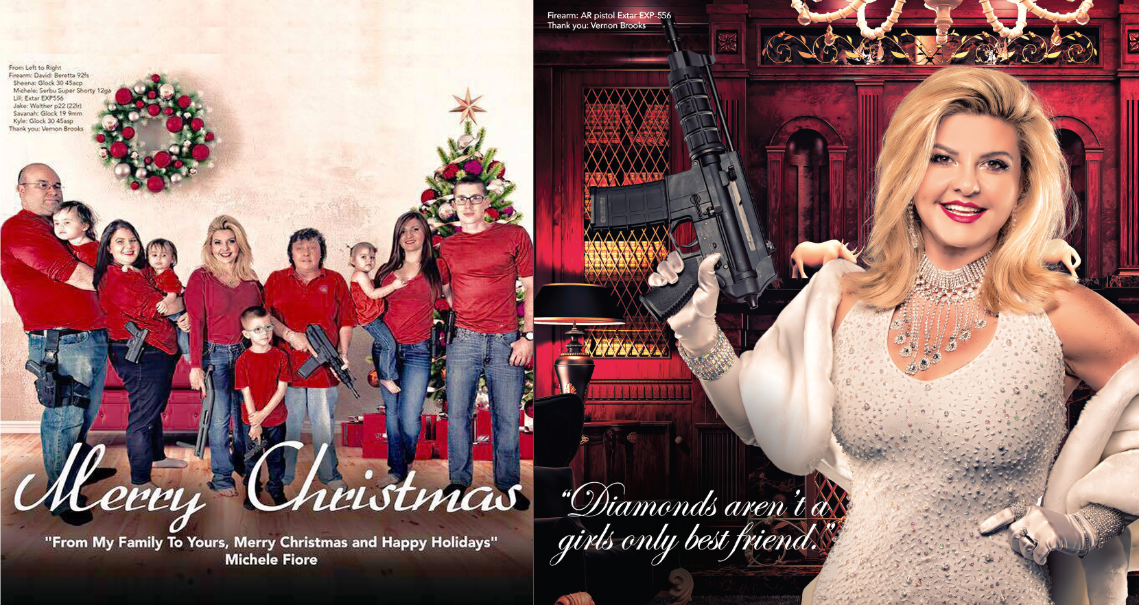 Trigger Happy Holidays – Republican Lawmaker Posts Christmas Card Featuring Fully Armed Family