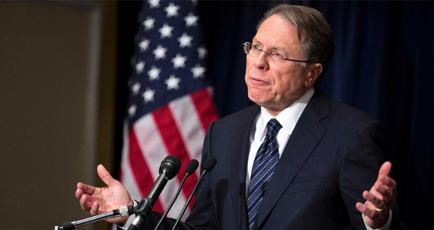 'Terrorist Wayne LaPierre Leads NRA's Sick Gun Jihad Against America' – NY Daily News