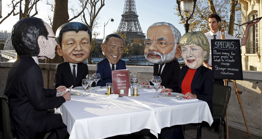 Environmental Terrorists Meet in Paris