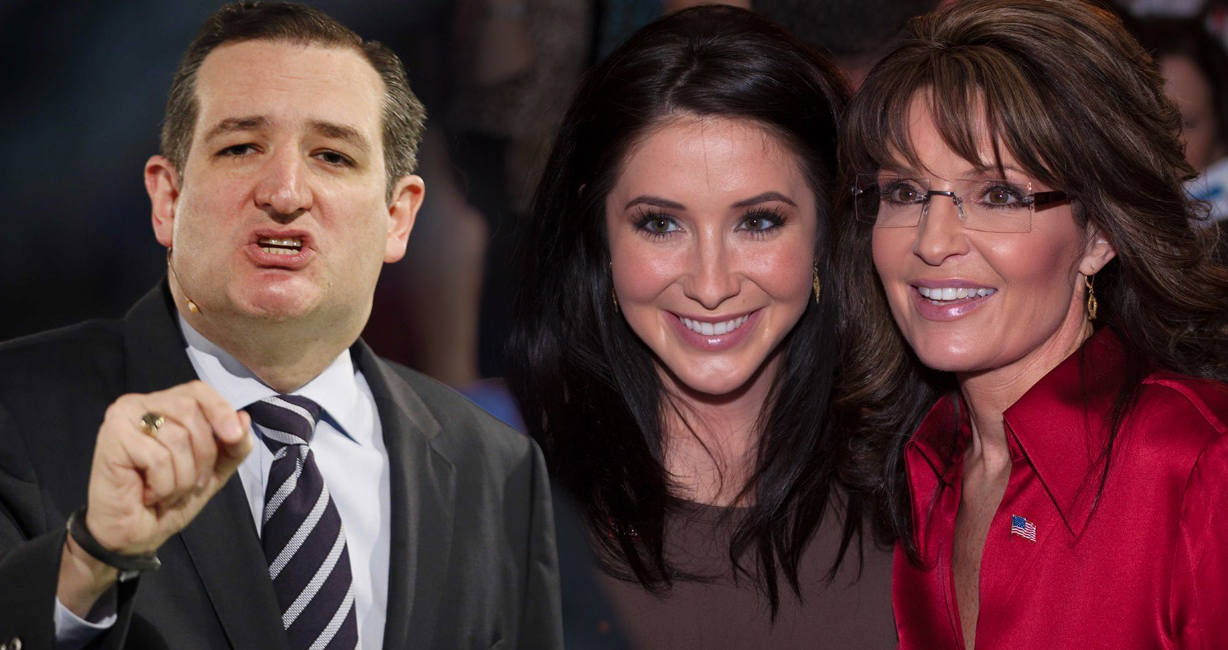 Bristol Palin Shreds Ted Cruz After Cruz Campaign Attacks Sarah Palin