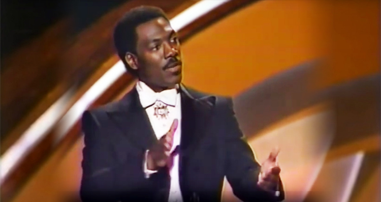 1988 Oscars: Eddie Murphy Called Out Hollywood for Racism—and Still Made People Laugh