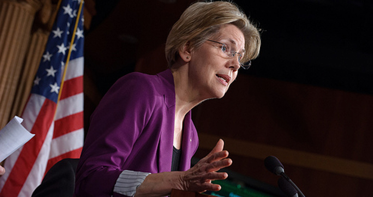 Elizabeth Warren Blasts Goldman Sachs Settlement