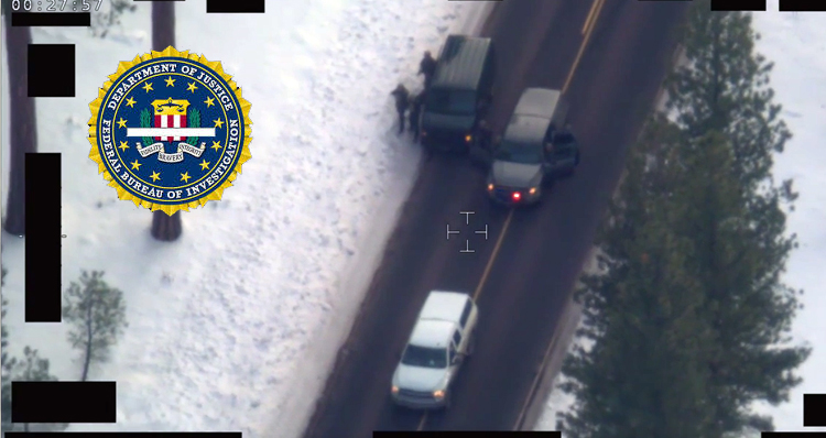 Oregon Standoff: FBI Releases Video Of LaVoy Finicum Shooting – Video