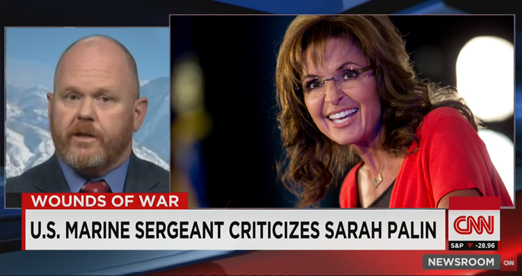Combat Veteran Blasts Sarah Palin In Scathing Open Letter – Video