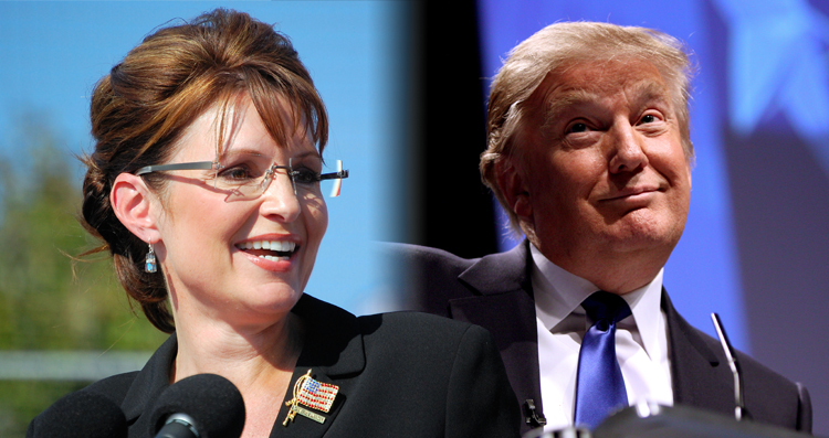 Palin Just Endorsed Trump Adding A Whole New Side Show To The Circus