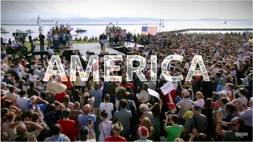 Bernie Sanders Has A Powerful New 1-Minute Campaign Ad