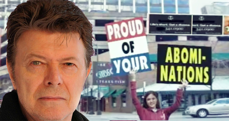 Westboro's Planned David Bowie Protest Hilariously Backfires