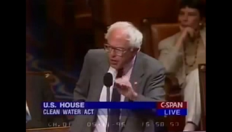 Watch Bernie Sanders Publicly Shame Homophobic Republican In 1995 – Video