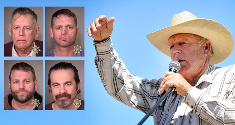 Feds Throw The Book At Cliven Bundy, Sons, 2 Others For 2014 Nevada Standoff