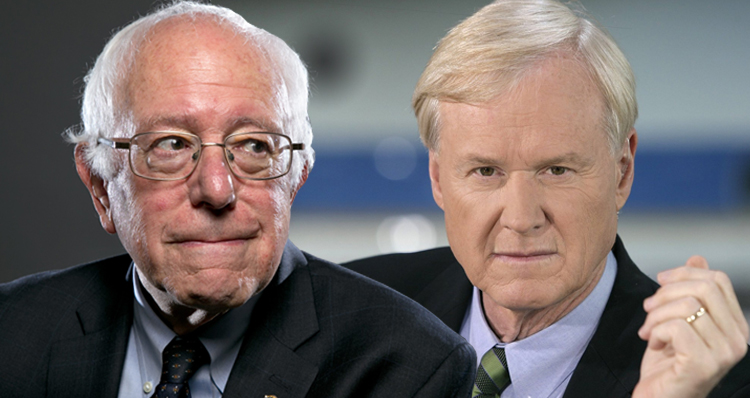 Chris Matthews Has A Clear Conflict Of Interest When It Comes To Bernie Sanders