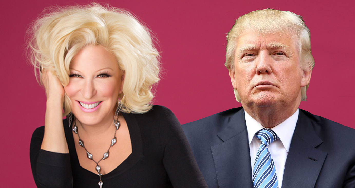 Donald Trump Perfectly Trolled By Bette Midler