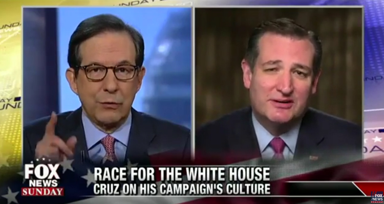 Watch Fox News Host Confront Ted Cruz About His Campaign's 'Dirty Tricks'