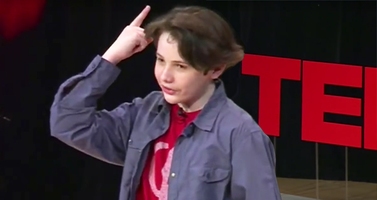 TEDx Talk by 14-Year-Old with Higher IQ Than Einstein – Video