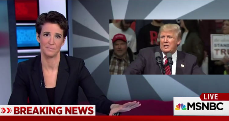 Donald Trump's Timeline Of Ginning Up Hate And Violence In One Rachel Maddow Clip